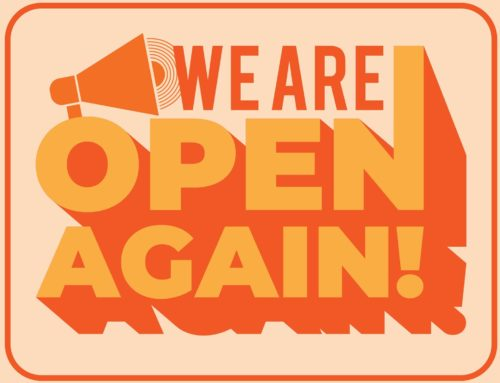 We are open now!